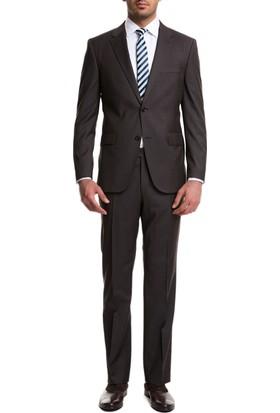 Cacharel Ella Y56 Takım Elbise Koyu Kahverengi