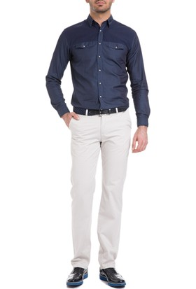 Cacharel Regular Basic Chino Pantolon Bej