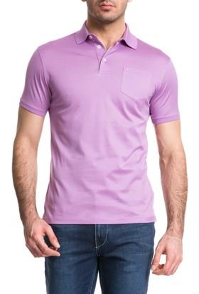 Cacharel Polo Yaka T-Shirt Pembe