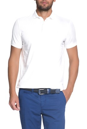 Cacharel CT16 Polo Yaka T-Shirt Beyaz