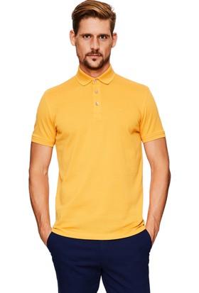 Cacharel CT17 Polo Yaka T-Shirt Turuncu