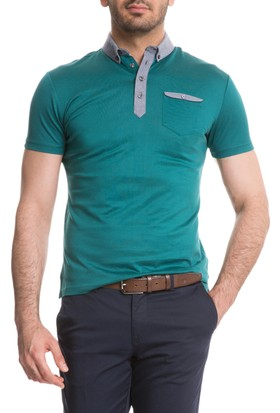 Cacharel Duplan Polo Yaka T-Shirt Yeşil