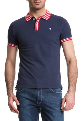Cacharel Outlet Polo Yaka T-Shirt Lacivert
