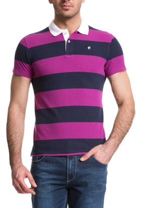 Cacharel Outlet Polo Yaka T-Shirt Pembe