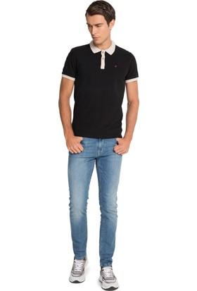 Cacharel Outlet Polo Yaka T-Shirt Siyah