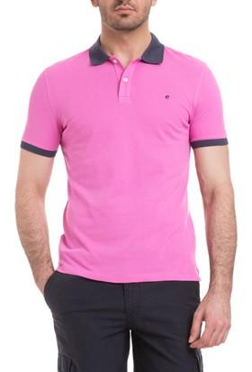 Cacharel Örme Polo Yaka T-Shirt Pembe