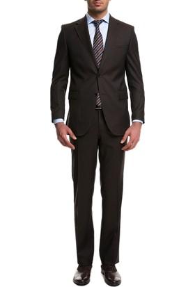 Cacharel CS03 Itl Fidel Takım Elbise Koyu Kahverengi