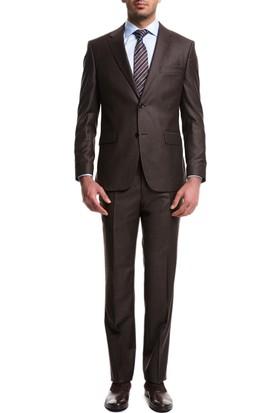 Cacharel Elais Y56 Takım Elbise Kahverengi