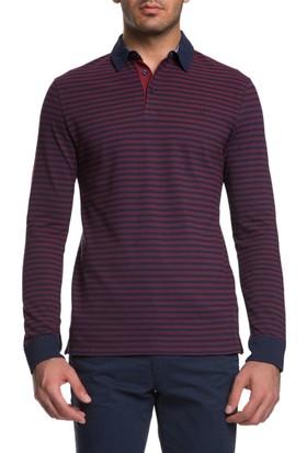 Cacharel Markiz Polo Yaka Sweatshirt Kırmızı
