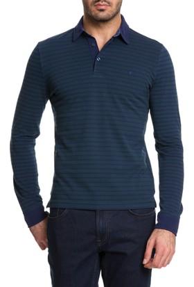 Cacharel Jiter Polo Yaka Sweatshirt Yeşil