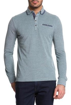 Cacharel John Polo Yaka Sweatshirt Yeşil