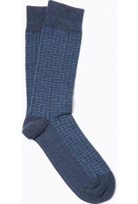 Cacharel Y7Bam5 Çorap Mavi