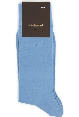 Cacharel Y7İpe8 Çorap Mavi