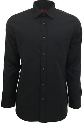 Robe Di Kappa Erkek Modern Fit Gömlek Siyah