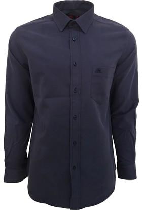 Robe Di Kappa Erkek Modern Fit Gömlek Lacivert
