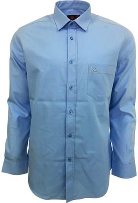 Robe Di Kappa Erkek Modern Fit Gömlek Mavi
