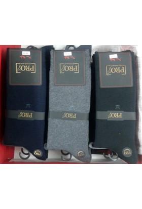 Pro 6'Lı Erkek Havlu Garson Çorap 14505