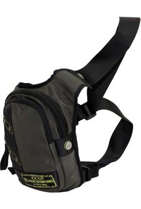 Ççs 30991-Gr Gri Bacak Bel Çantası, Body Bag