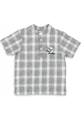 Modakids Nanica Erkek Çocuk Kısa Kol Gömlek (4 - 8 Yaş) 001-4904-030