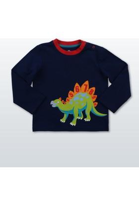 Wonder Kids Erkek Bebek Uzun Kollu T-Shirt WK17W1301-Lacivert