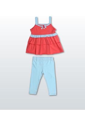 Wonder Kids Kız Bebek Tayt Takım WK14S330