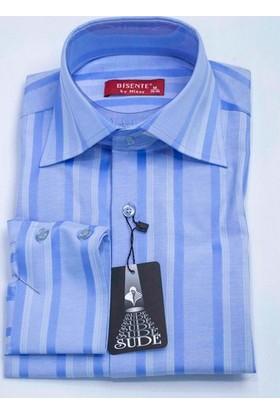 Bisente Pamuklu Erkek Slim Fit Uzun Kollu Gömlek BS41011