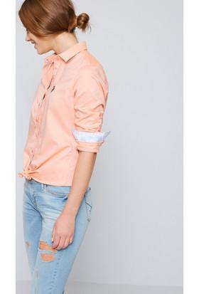 U.S. Polo Assn. Kadın Criscolor17Y Gömlek Turuncu