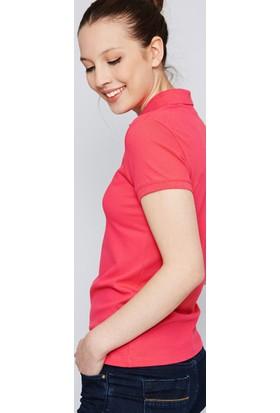 U.S. Polo Assn. Kadın Rp01İy07-011 T-Shirt Fuşya