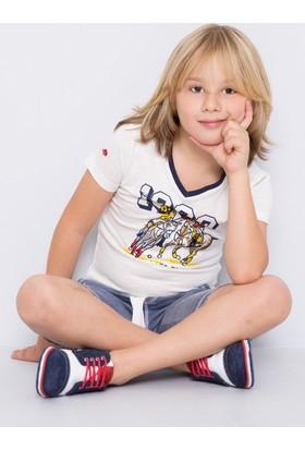 U.S. Polo Assn. Erkek Çocuk Luismi T-Shirt Bej