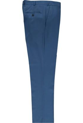 Kiğılı Bari Kalıp Slim Fit Düz Pantolon