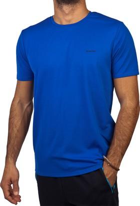 Exuma 241219 Man T-Shirt Koyu Mavi