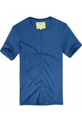 Exuma 361211 Man T-Shirt İndigo