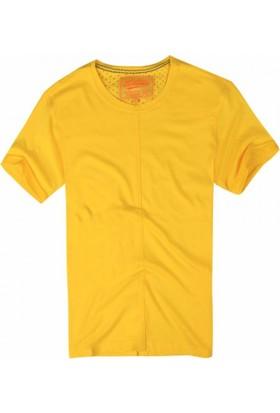Exuma 361211 Man T-Shirt Sarı