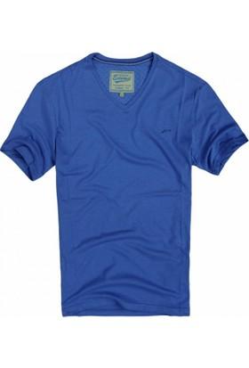 Exuma 361299 Man T-Shirt İndigo