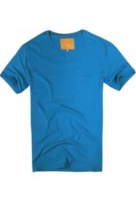 Exuma 361299 Man T-Shirt Turkuaz
