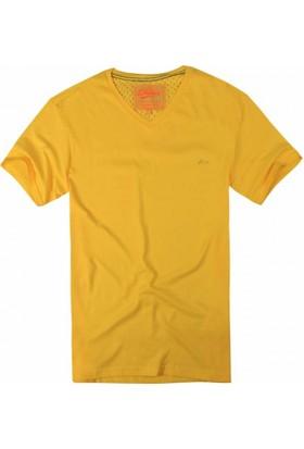 Exuma 361299 Man T-Shirt Sarı
