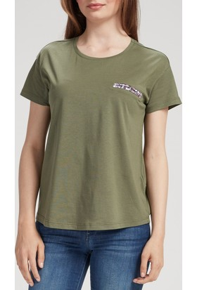 Vena Maya T-Shirt Haki 1402825