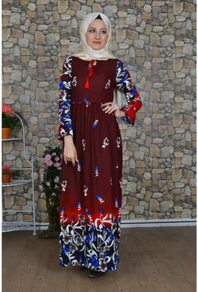 Modayns Çiçekli Elbise