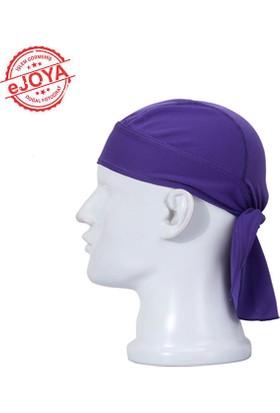 Ejoya Bandana Şapka - Mor Bd016