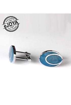 Ejoya Mineli Kol Düğmesi Kl801