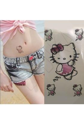 Leydika Hello Kitty Geçici Dövme Tattoo 249