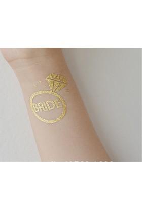 Leydika Tek Taş Bride Dövme