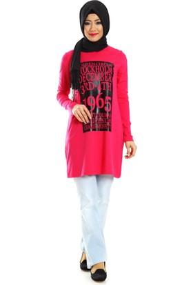 Al-Marwah Dizzy Bluz 60177 Fuşya