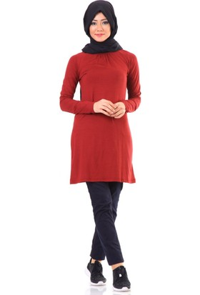 Arancia Basic Tunik Tn1001 Bordo