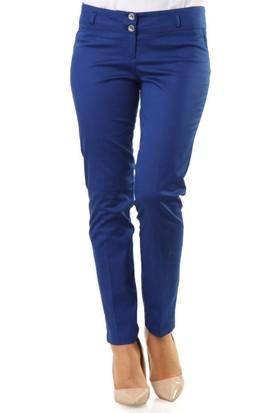Veteks Line Bilek Boy Pantolon 3024 Açık Lacivert