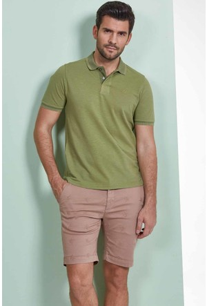 Hemington Yeşil Polo Yaka T-Shirt