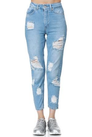 Bsl Fashion Mavi Jean Pantolon 9205