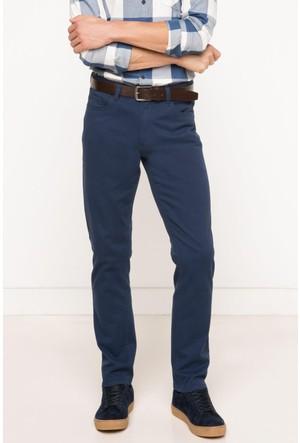 DeFacto Erkek Mini Me Paco Slim Fit Kemerli Pantolon Lacivert