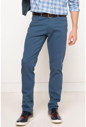 DeFacto Erkek Mini Me Paco Slim Fit Kemerli Pantolon İndigo