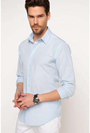 DeFacto Erkek Basic Gömlek Açık Mavi